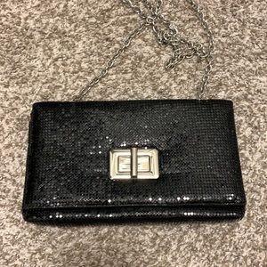 NWOT Evening bag with shimmer sequins
